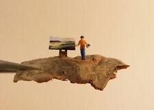 (WW01) Künstler Landschaftsmaler Figure Spur Scale Z (1:220)