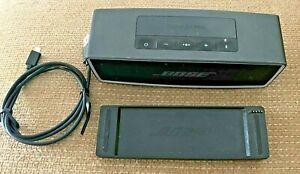Bose SoundLink Mini II Bluetooth Speaker System W/ Charging Cradle & USB Cable