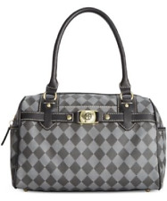 Marc Fisher Check Mate Large Satchel,