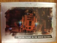 2017 Star Wars Masterwork R2-D2 Saving Padme in the droid factory 093/565