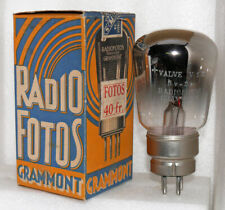 1 NOS NIB tube V12 GRAMMONT RADIOFOTOS rectifier about 100 years old (906021)