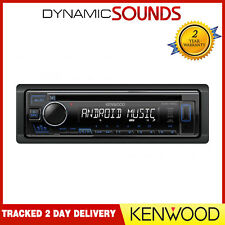 Kenwood KDC-130UB CD MP3 USB RDS Radio Stereo Android Ready Blue Illumination