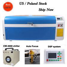 US Ship Now RECI 100W Laser Cutter Engraving Machine Color Separation Auto Focus