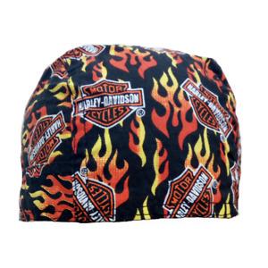 HD Bandana Bar /& Shield Schwarz Headwrap Kopftuch Tuch Mütze