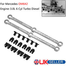 For Mercedes OM642 Intake Inlet Manifold Swirl Flap Repair Runner Connecting Rod