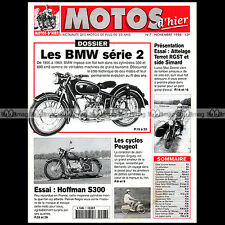MOTOS D'HIER N°7 BMW SERIE 2 R50 R60 R69 SIDE TERROT RGST SIMARD HOFFMAN S300
