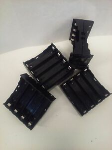18650 Charging 4BAY Cell Holder 6pc PCB Solder pin DIYPowerwall US SALES