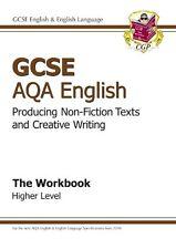 GCSE AQA Producing Non-Fiction Texts and Creative Writing Workbook - Higher,CGP