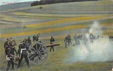 SOLDIERS GUNS GERMANY WORLD WAR I MILITARY K.B. ERSATZ FELDPOST POSTCARD '15 (2)