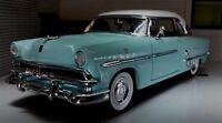 LGB G 1:24 Scale Ford Crestline Victoria 1953 Mint White Diecast Detailed Model