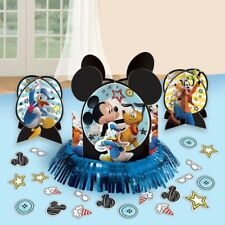 NEW Mickey Mouse Table Decorations Centerpieces Plus Confetti Birthday Supplies~
