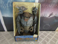 Lord Of The Rings Deluxe Poseable Battle Troll New In The Box !