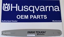 "Genuine OEM  Husqvarna 20"" Bar 585950972 608000157  455 & 460 Rancher 55 Rancher"