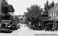 View S. end of Main, Sutter Creek, Amador County, CA -1934- Historic Photo Print