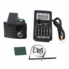 Acoustic Guitar Preamp Piezo Pickup 5-Band EQ LCD Tuner F-5T