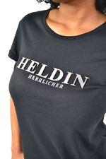 NEU! sehr cooles HERRLICHER HELDIN T-Shirt Kendall Jersey J6407 Schwarz Gr. M