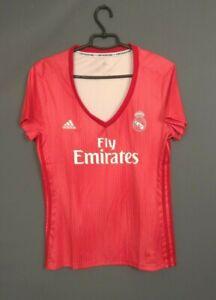 Real Madrid Jersey Women 2018 2019 Away LARGE Shirt Adidas DP5448 ig93
