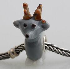 1pcs MURANO GLASS BEAD LAMPWORK Fit European Charm Bracelet DW-177 lovely Animal