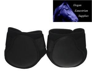 PROTACK FETLOCK BOOTS BLACK pony or full