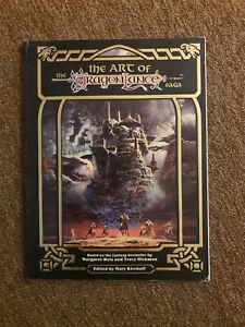 AD&D / D&D / Advanced Dungeons&Dragons - The Art of The Dragonlance Saga - TSR