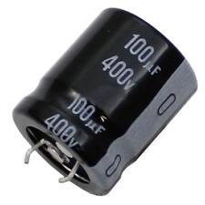 5x Snap-In Elko Kondensator 100µF 400V 105°C ; LGN2G101MELZ25 ; 100uF