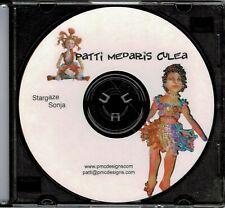 "Cloth Art Doll Cd Pattern ""Stargaze Sonja"" By Patti Culea"