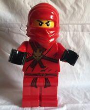 "Lego Ninjago Red 13"" Toy Figure Coin Bank Ninja Piggy Bank"