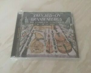 WENDY CARLOS - Switched-On Brandenburgs (2CD-SET) Brand New Sealed
