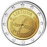 LITUANIE 2 Euro Culture Balte 2016 UNC
