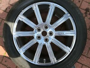 "LAND ROVER RANGEROVER VOGUE AUTOBIOGRAPHY L322 20"" ALLOY WHEEL AH42-1007-BAW"