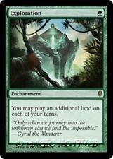 EXPLORATION Conspiracy MTG Green Enchantment Rare