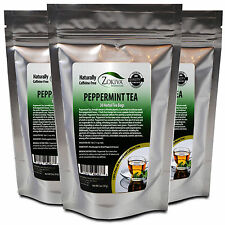 Peppermint Tea 90 Bags 3-PACK 100% Natural Mentha piperita in Resealable Pouch