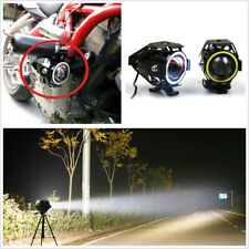 2 X Super Bright 125W U7 CREE LED Motorcycle Headlight Fog Lamps DRL Spot Lights