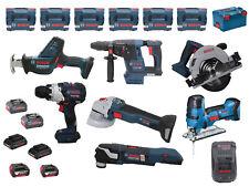 Bosch GBH18V-26F + GWS18V-10SC + GSA18V-LIC/GST18V-LIS + GKS18V-57G + GOP18V-28