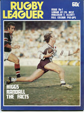 1978 Rugby Leaguer Magazine.  Issue 1.