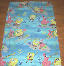 "Sponge Bob & Patrick Twin Flat Sheet ""Shake it Don't Break it"""