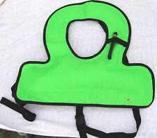 Snorkeling Vest Children Size Lime Color 420 D Nylon Resistant Material