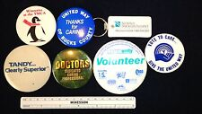 Vintage Pins, Lot Of Mixed Pin Buttons. Ymca