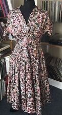 Gorgeous Genuine 1950S Vintage Dress Small