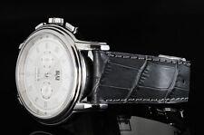 OT 22/18mm Italian Calf with AlligatorGrain Strap / Band fit Zenith watch -Black