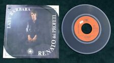"Renato dei Profeti  Lady Barbara/L'Universita'  7"" 45 Pix sleeve record"