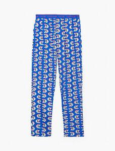 Calvin Klein Men's CK One Logo Print Pajama Lounge Pants Kettle Blue Logo M, XL