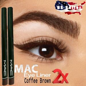 COFFEE BROWN MAC Retractable Waterproof Eyeliner Pencil Pen Vitamin BUY 2 GET 1