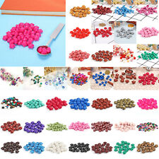30pcs/100pcs Retro Colors Sealing Wax Beads Home Stamp Invitation Wedding Cards