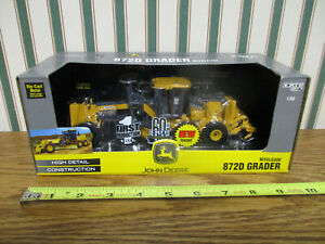 John Deere 872D Road Grader First Production By Ertl 1/50th Scale