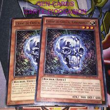 OCCASION Carte Yu Gi Oh CRANE DE CRISTAL CHRONOMAL REDU-FR013 1ère édition x 2