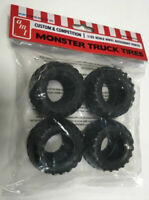 AMT Monster Truck Tire Parts Pack 1:25 scale tires for model kits new 26