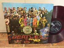 Beatles SGT. PEPPERS Japan LP RED WAX Odeon (OP-8163)