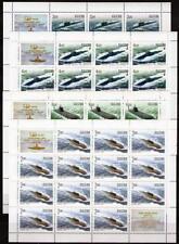 Russland 2006 Mi. 1311-14 Russische U-Boot Flotte 4 Kleinbögen **/MNH