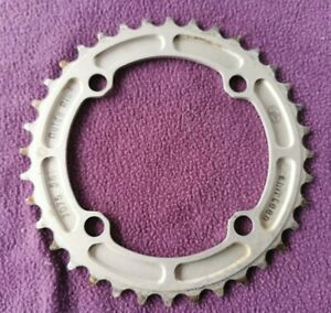 E.thirteen E13 DH Guidering Guide ring MTB Chainring 104mm BCD x 36t Silver